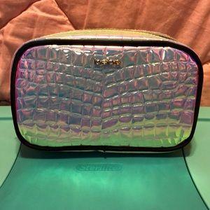 Bebe holographic Makeup Bag